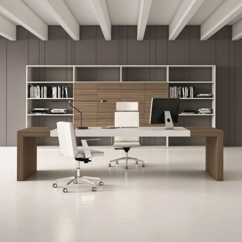 Stunning parete con scrivania click per ingrandire - Parete attrezzata con scrivania ...