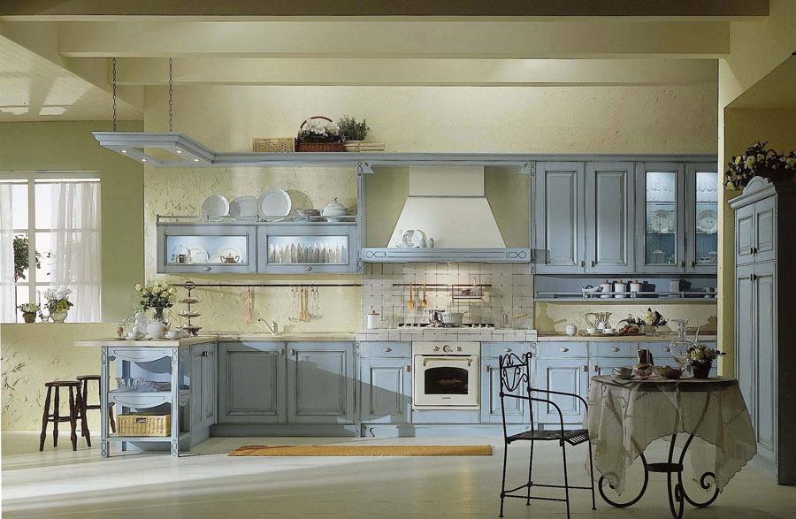 Cucine Stile Provenzale Prezzi. Cucina Ginevra In Stile Rustico Di ...