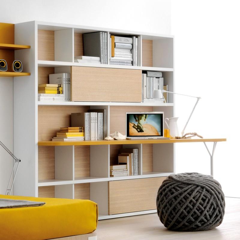 Lazzereschi arreda for Mobile scrivania libreria